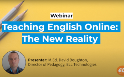 Webinar – Teaching English Online: the New Reality