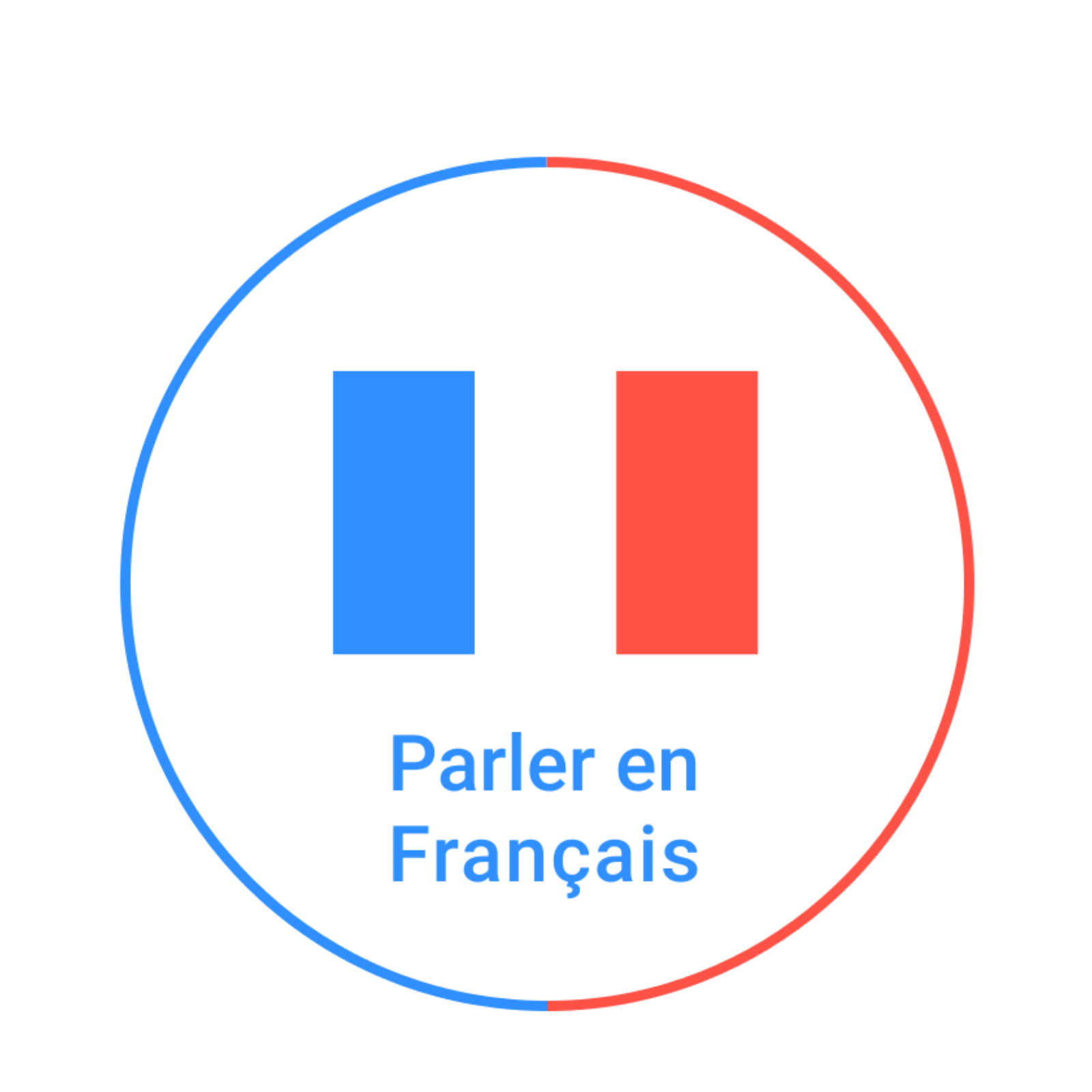 French course logo