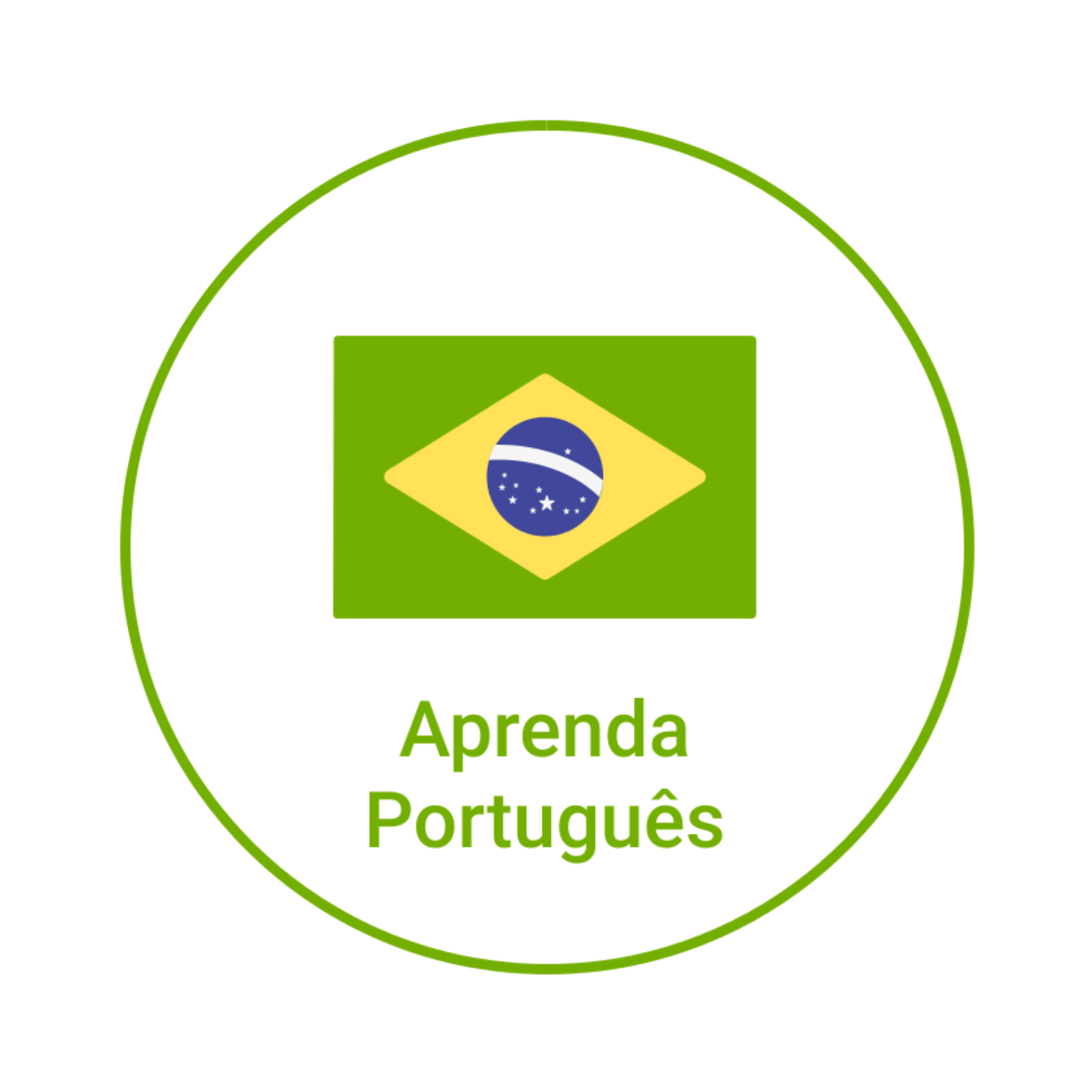 Portuguese course logo