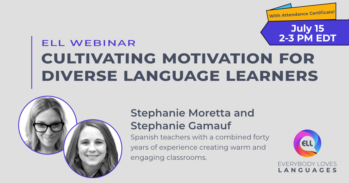 Banner Cultivating Motivation for Diverse Language Learners