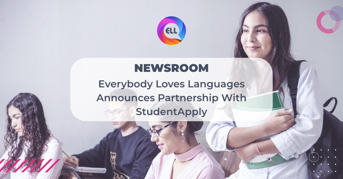 Everybody Loves Languages Announces Partnership With StudentApply