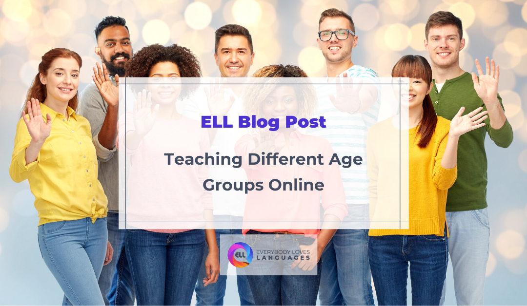 How to Teach Different Age Groups Online