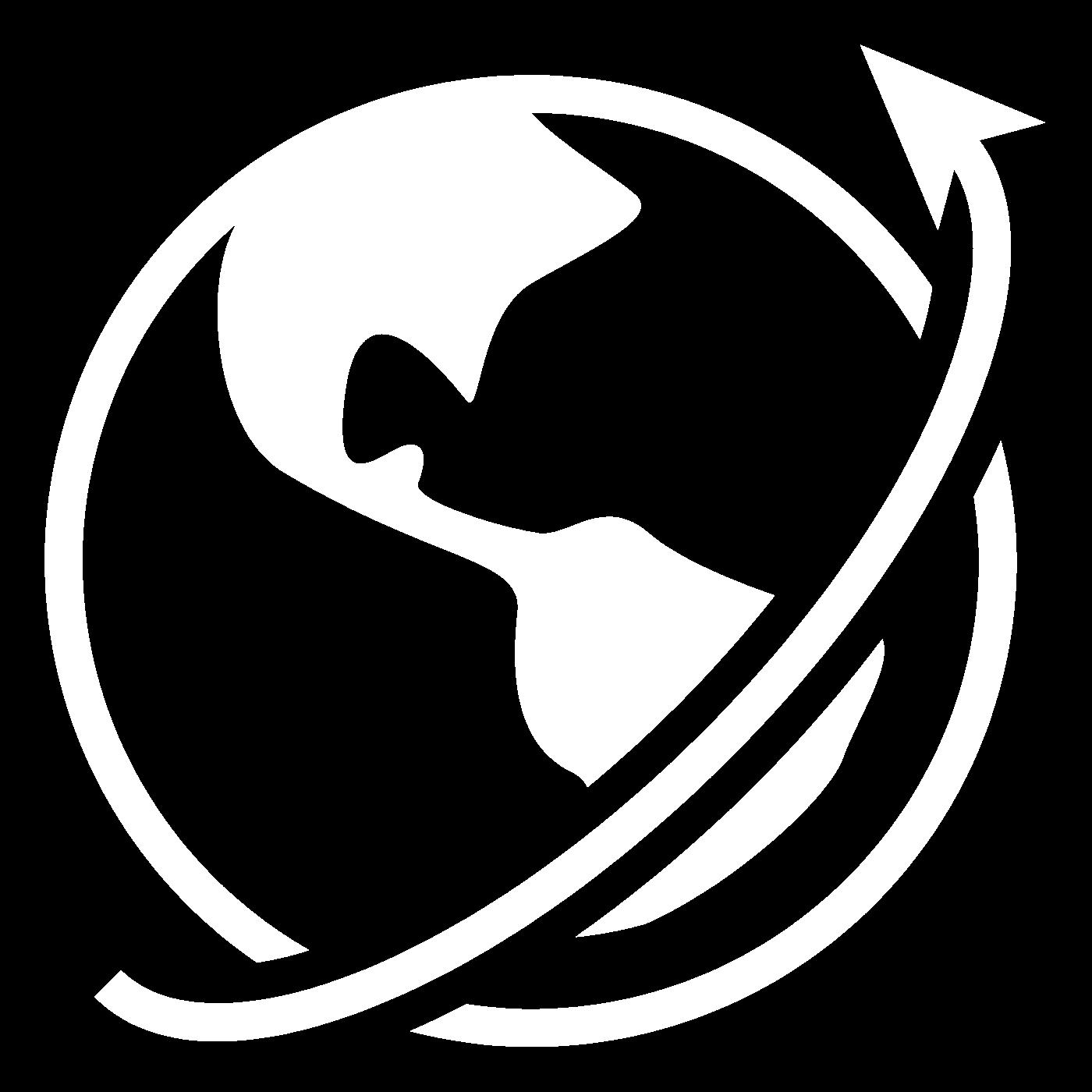 Icon representing world