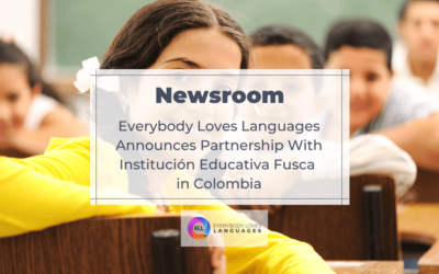 EVERYBODY LOVES LANGUAGES ANNOUNCES PARTNERSHIP WITH INSTITUCION EDUCATIVA FUSCA IN COLOMBIA