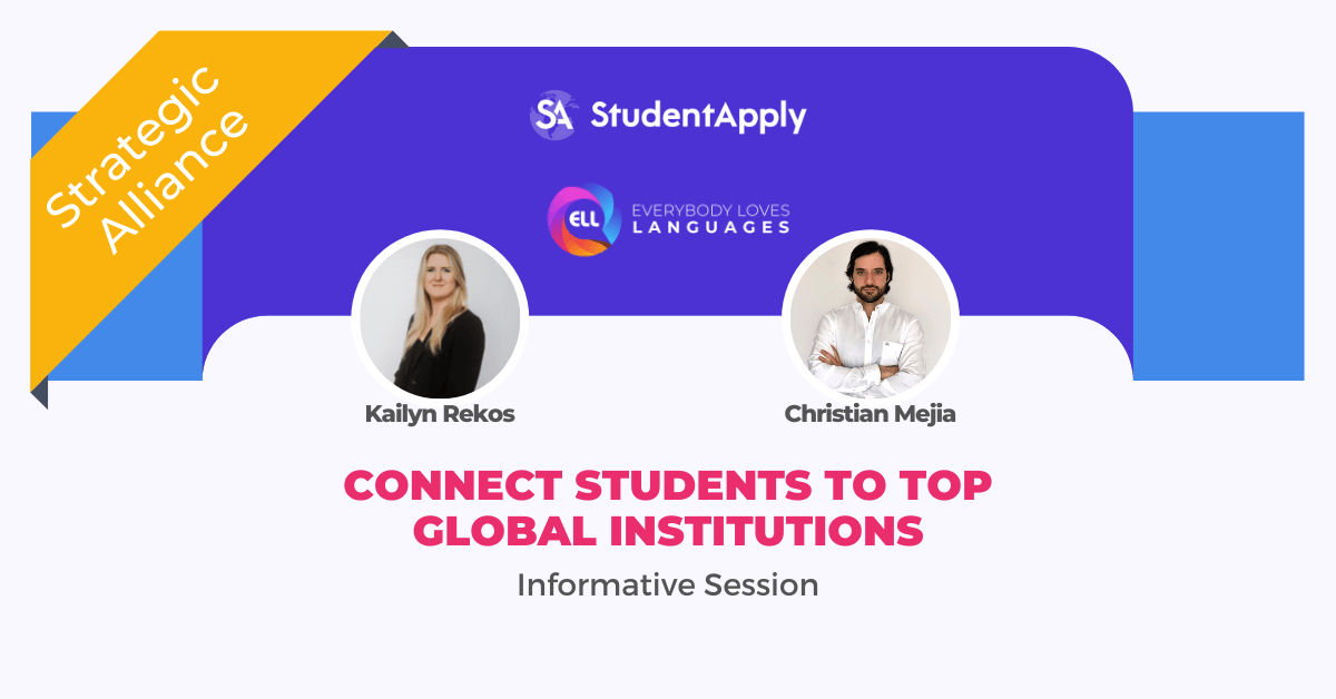 connect students to Top Global Institutions